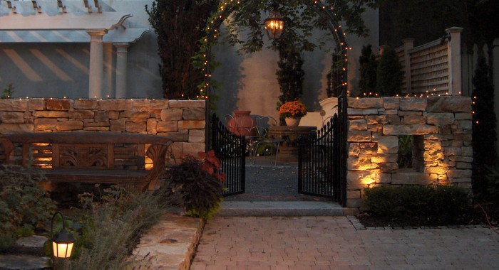 Maine Landscaping Lighting